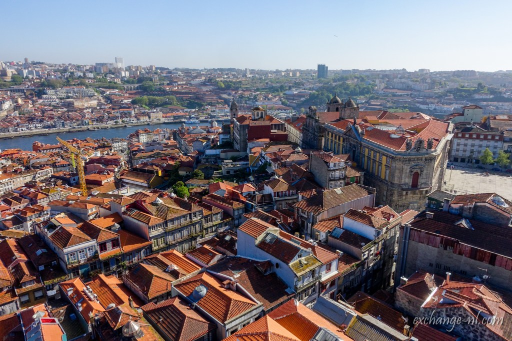 波圖鳥瞰圖 Bird's eye view of Porto