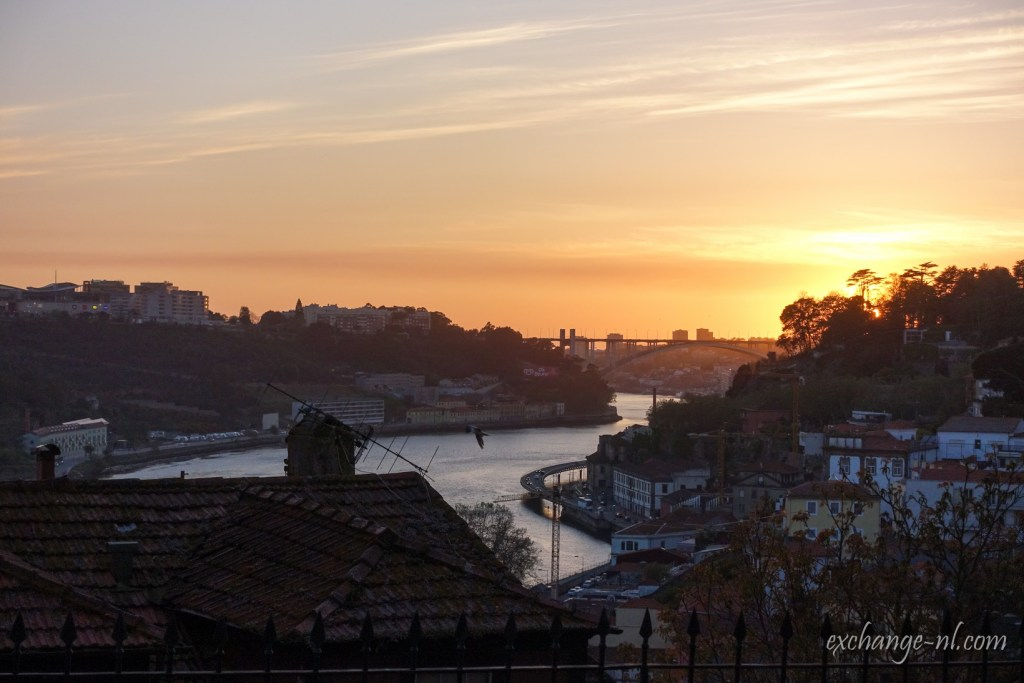 波圖日落 Sunset in Passeio das Virtudes, Porto