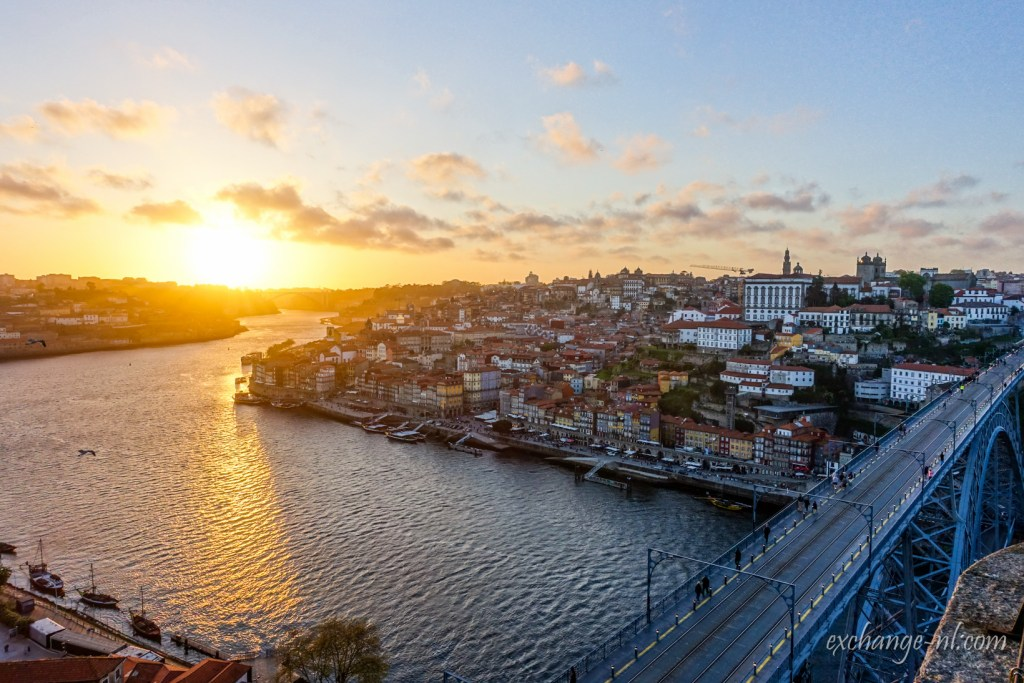 波圖日落 Sunset in Porto