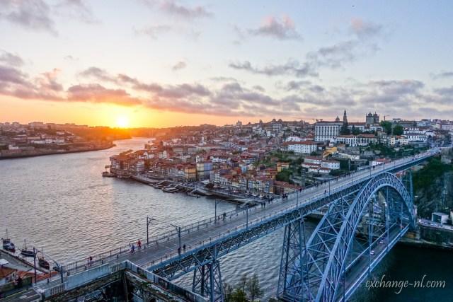 波圖日落 Sunset in Porto