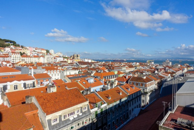 鳥瞰里斯本 Bird's eye view of Lisbon