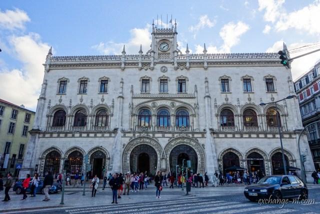 里斯本羅西烏車站 Estação Ferroviária do Rossio (Rossio Railway Station), Lisbon