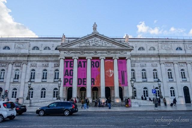 里斯本瑪麗亞二世國家劇院 Teatro Nacional D. Maria II (D. Maria II National Theatre), Lisbon