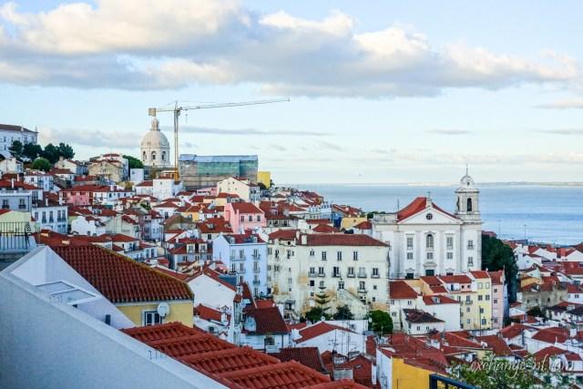 里斯本聖露西亞觀景台景觀 View from Miradouro de Santa Luzia, Lisbon