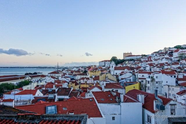 里斯本聖斯德望觀景台景觀 View from Miradouro de Santo Estêvão, Lisbon