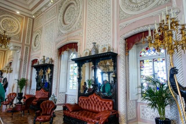 葡萄牙辛特拉佩納宮內部 Inside of Palácio Nacional da Pena / Pena Palace, Sintra