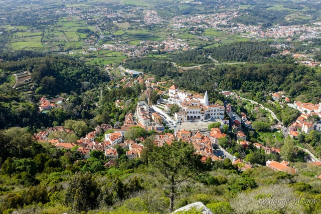 葡萄牙辛特拉鳥瞰 Bird's eye view of Sintra