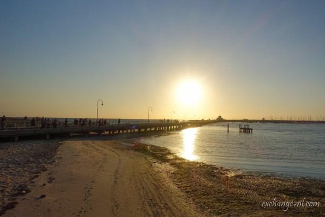 墨爾本聖科達碼頭日落 Sunset in St. Kilda Pier, Melbourne