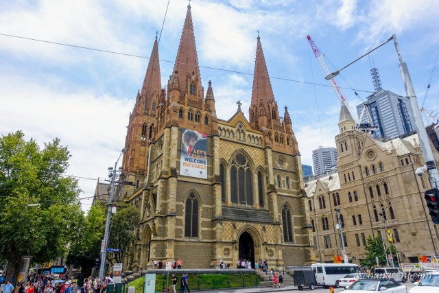 墨爾本聖保羅座堂 St Paul's Cathedral, Melbourne