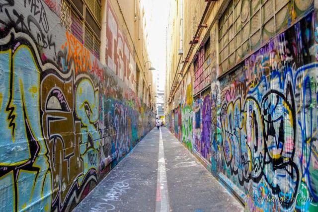 墨爾本塗鴉街 Union Lane, Melbourne