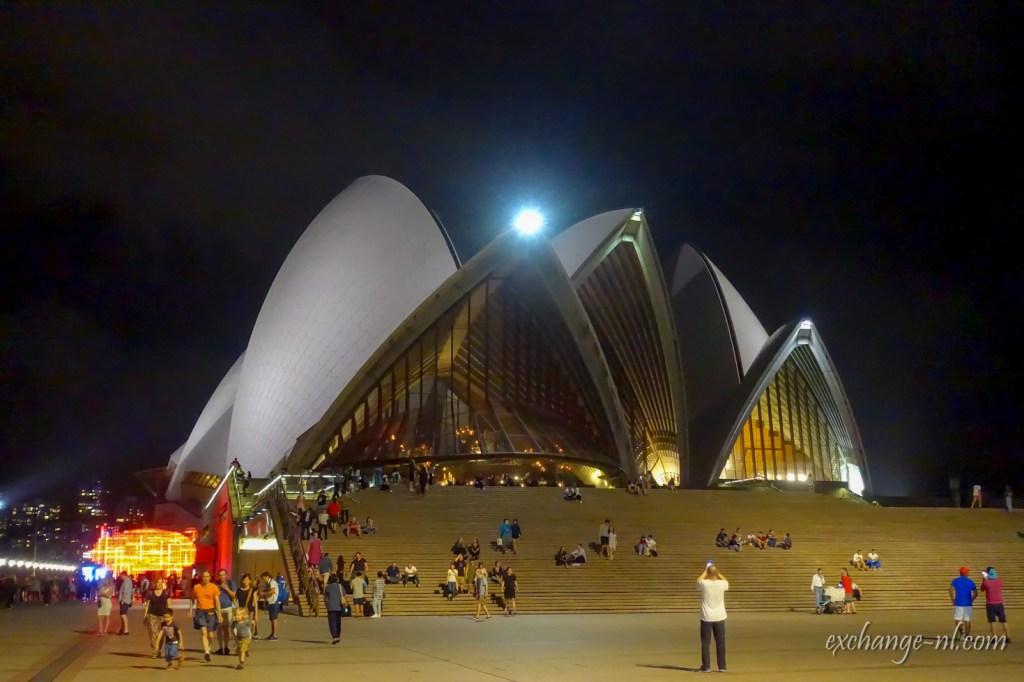 悉尼歌劇院夜景 Sydney Opera House Night View