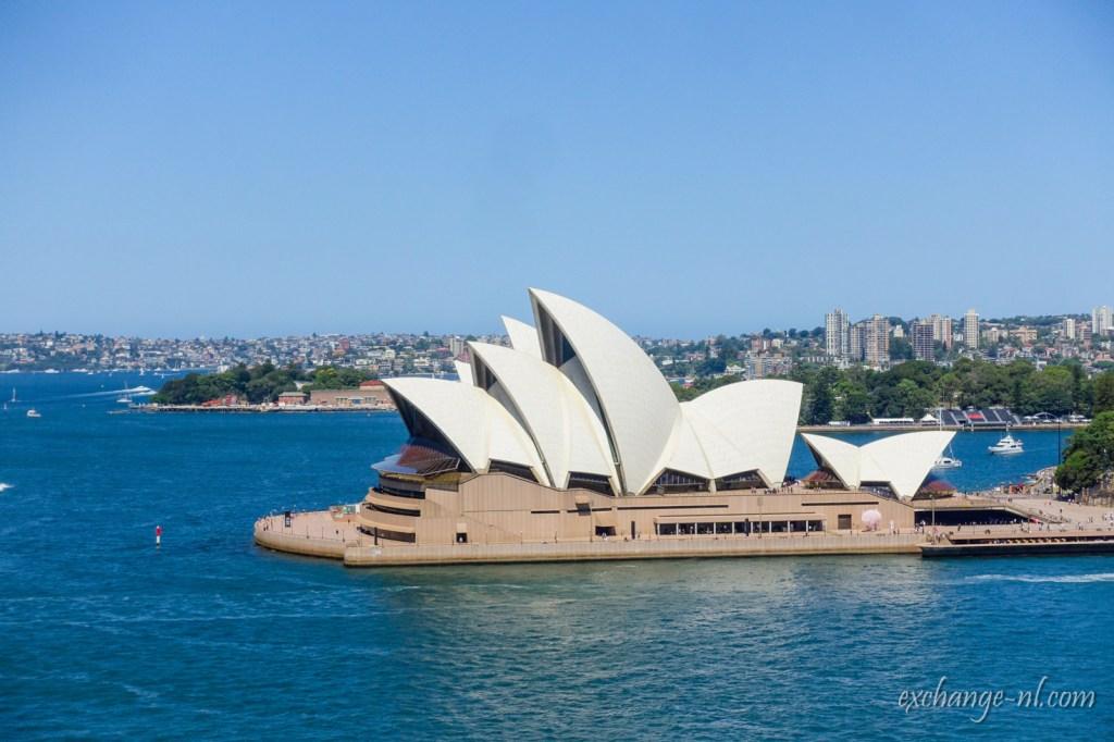 悉尼港灣大橋遠眺悉尼歌劇院 View of Sydney Opera House from Sydney Harbour Bridge