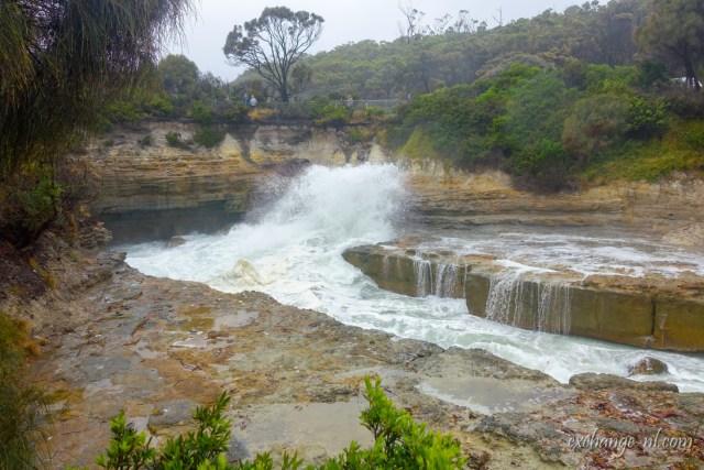 塔斯曼尼亞噴水洞 Blow Hole, Tasmania