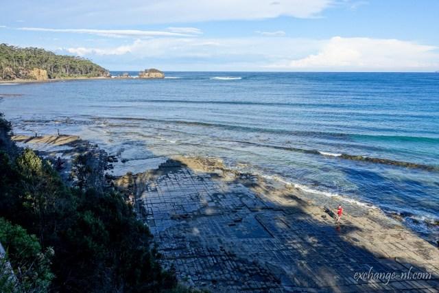 塔斯曼尼亞棋盤道 Tessellated Pavement, Tasmania