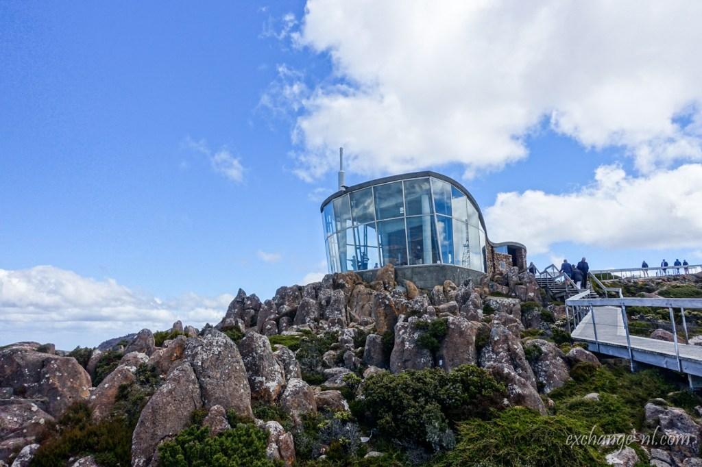 塔斯曼尼亞荷伯特威靈頓山室內觀景台 Indoor Lookout on Mount Wellington, Hobart, Tasmania