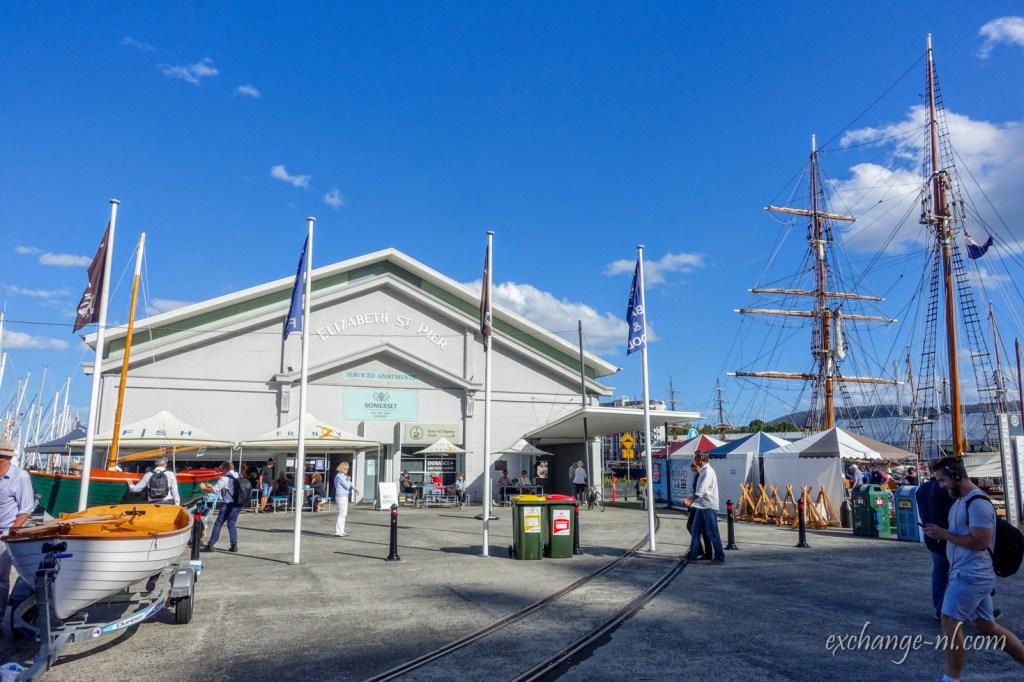 塔斯曼尼亞荷伯特伊利莎伯街碼頭 Elizabeth Street Pier, Hobart, Tasmania