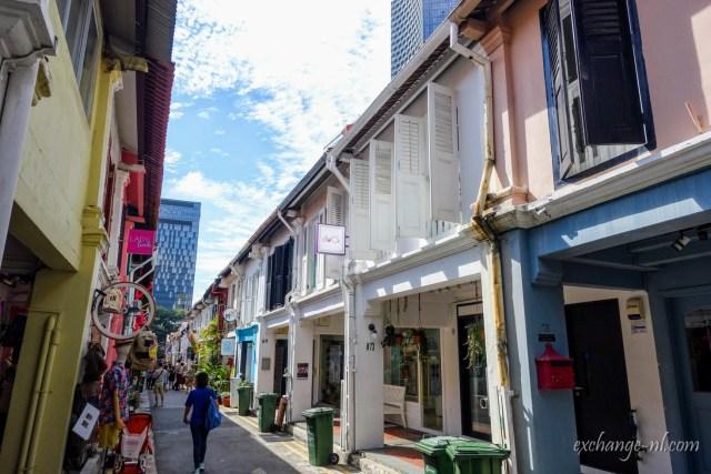 新加坡甘榜格南(阿拉伯區)哈芝巷 Haji Lane, Kampong Glam, Singapore