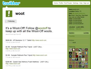 Twitterwoot