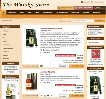 Whiskystore