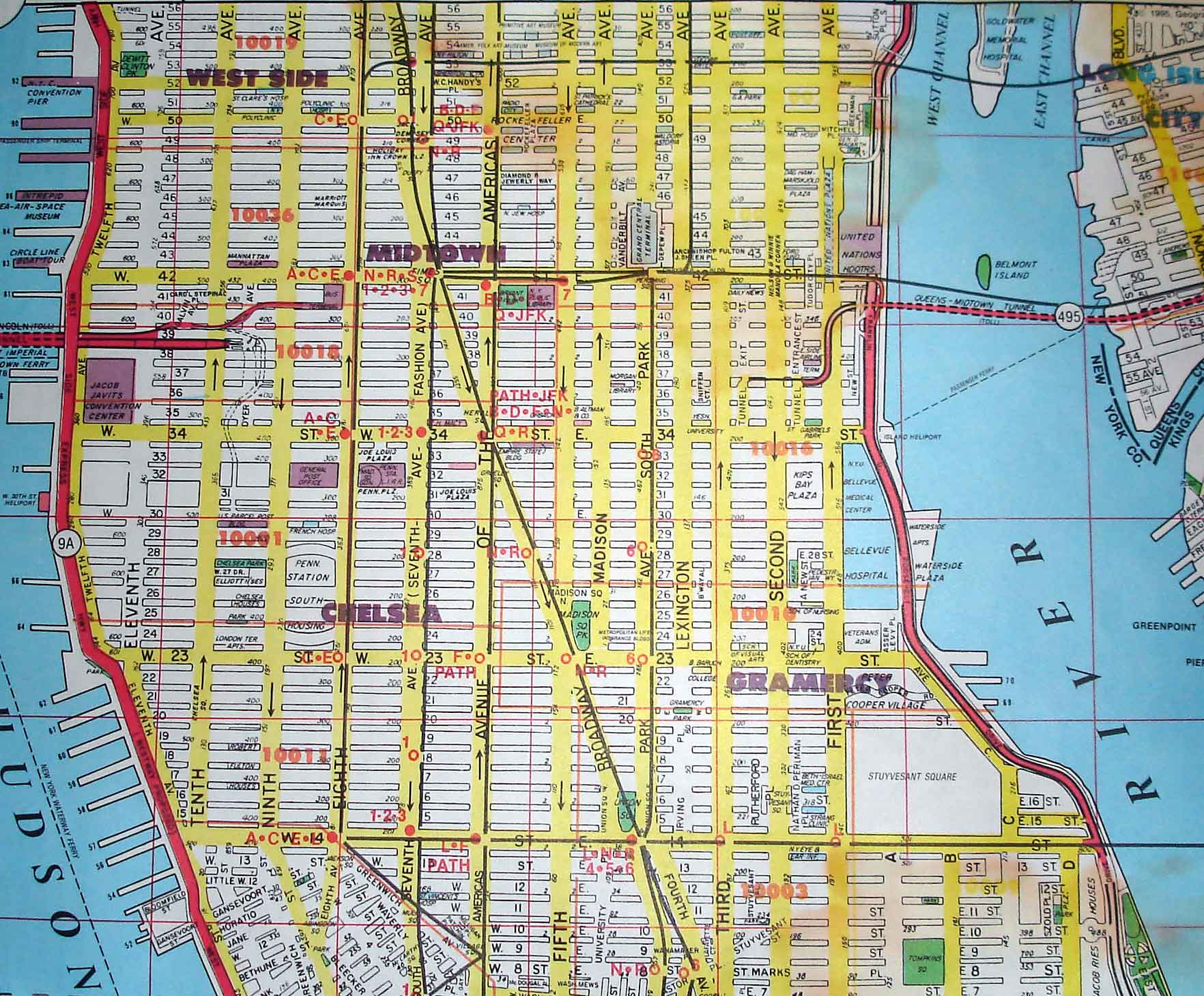 Map Of Streets In Nyc Afp Cv