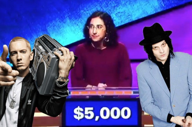 'Jeopardy' Contestant Confuses Jack White for Eminem