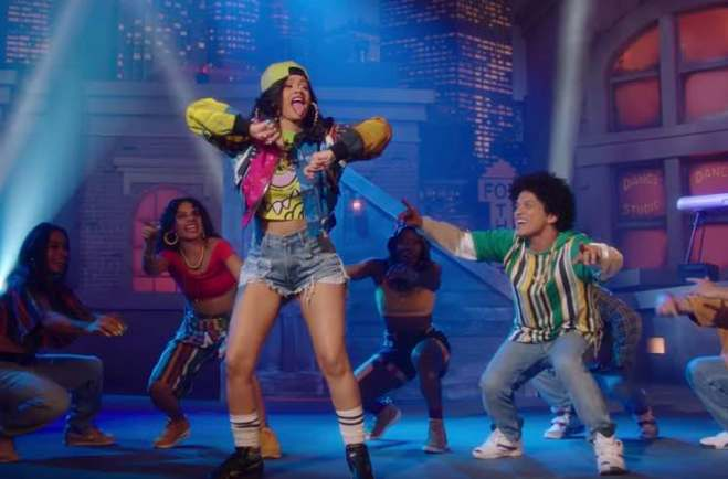 """Bruno Mars Gets Cardi B for Totally '90s """"Finesse"""" Remix and Video"""