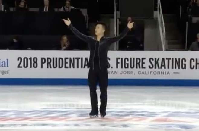 """Watch Jonny Ma Figure Skate to Lil Jon and DJ Snake's """"Turn Down for What"""""""