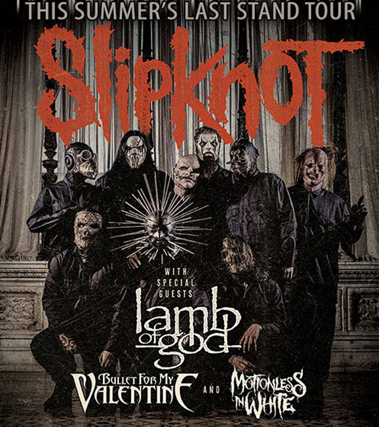 Slipknot Announce Summers Last Stand Tour With Lamb Of