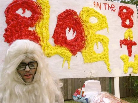 Flaming Lips' Wayne Coyne (aka Blob in the Bath) Caught on Google Maps Street View
