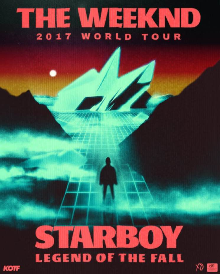 Image result for weeknd starboy tour