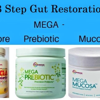 3 step Gut Restoration