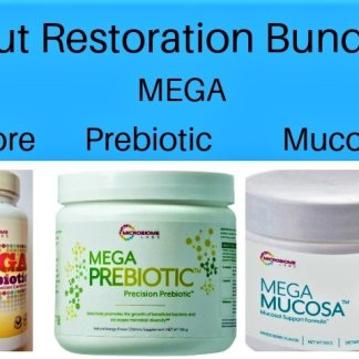 Gut restoration bundle, gut health supplements