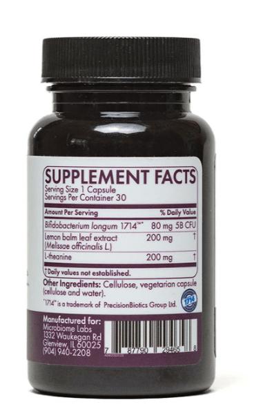 ZenBiome - Sleep Ingredients