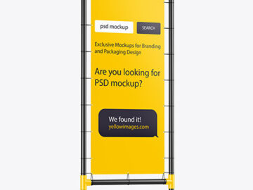 Download Apple Podcast Mockup Psd Yellow Images