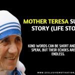 Mother Teresa Success Story (Life Story)