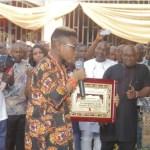 HRM Igwe Nnewi Honours Ozzybee