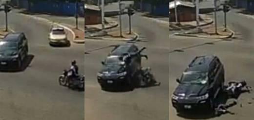 Motorist Crash Into A Moving Vehicle