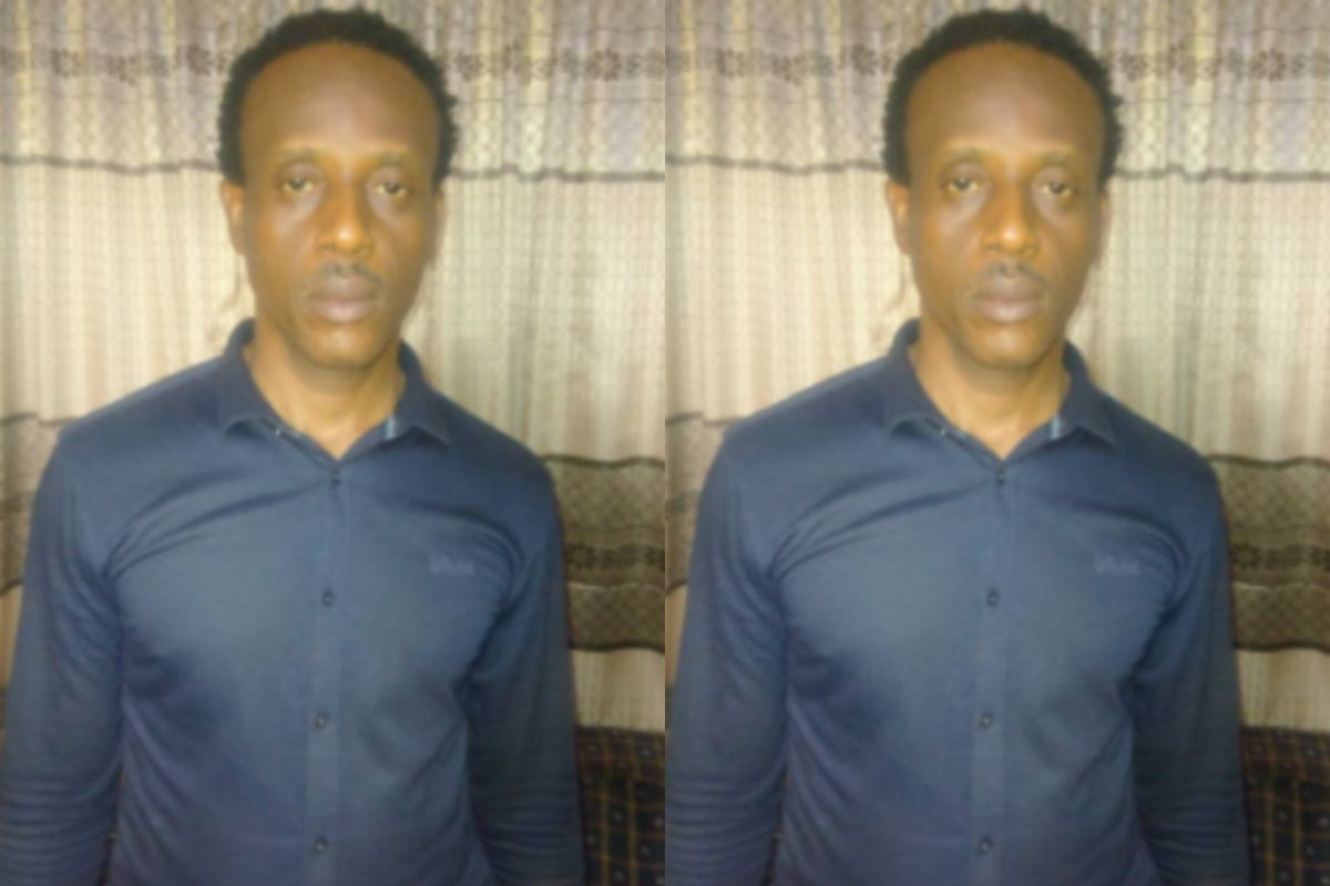 Photo Of The Nigerian Lecturer
