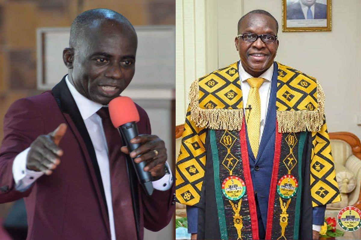 Prophet Alex Owusu Reveals And Rt. Hon. Alban Sumana Kingsford Bagbin