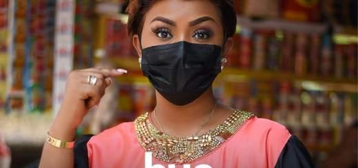 Photo Of Nana Ama Mcbrown In A Mask