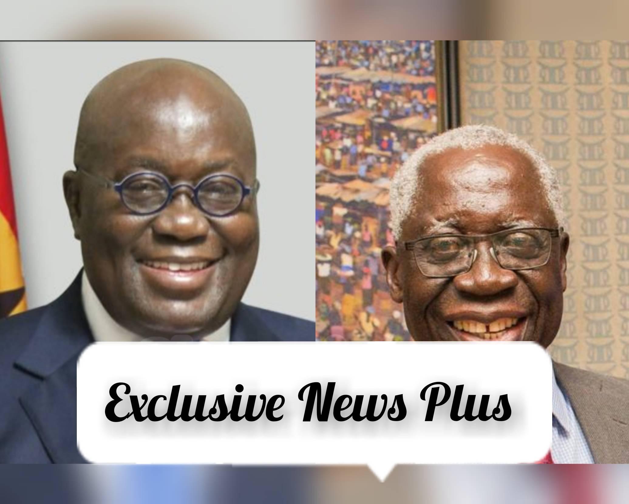 President Nana Akufo-Addo And Yaw Osafo Maafo