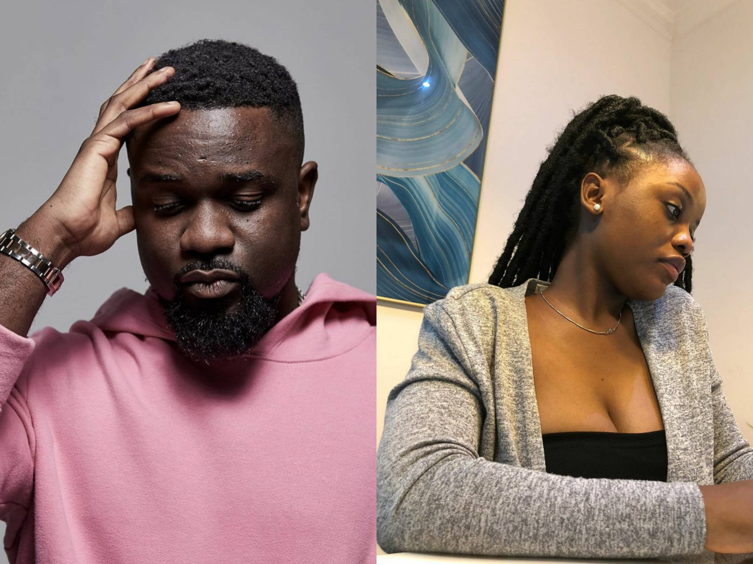 Photo Of GH Rapper Sarkodie And Singer Gyakie