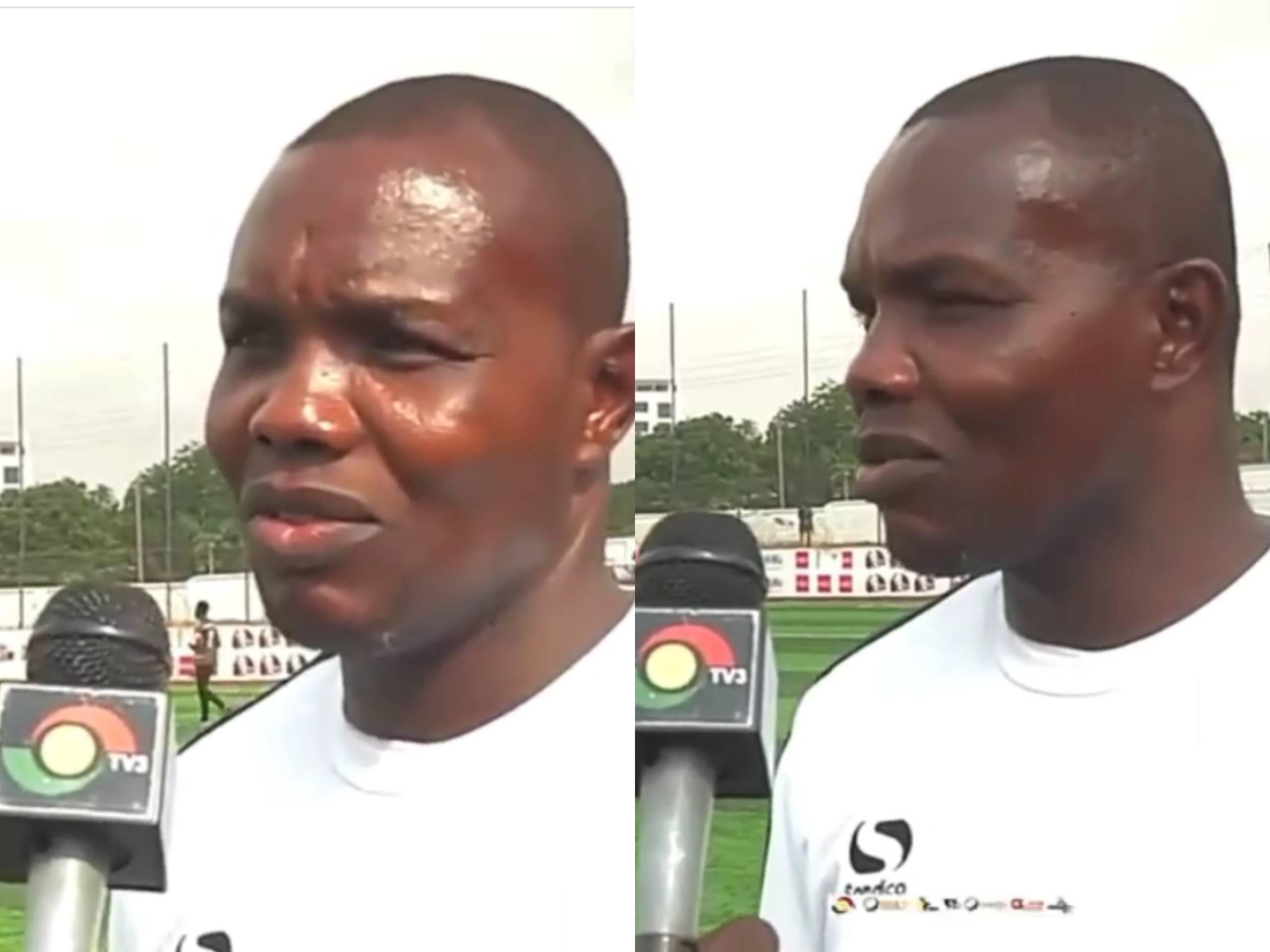 Former Goalkeeper of the Ghana Black Stars Richard Kingson