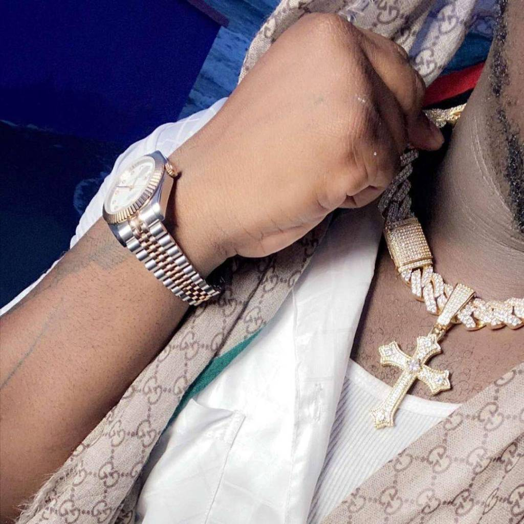 Ghanaian Hiplife/ Hip Hop rapper AMG Medikal