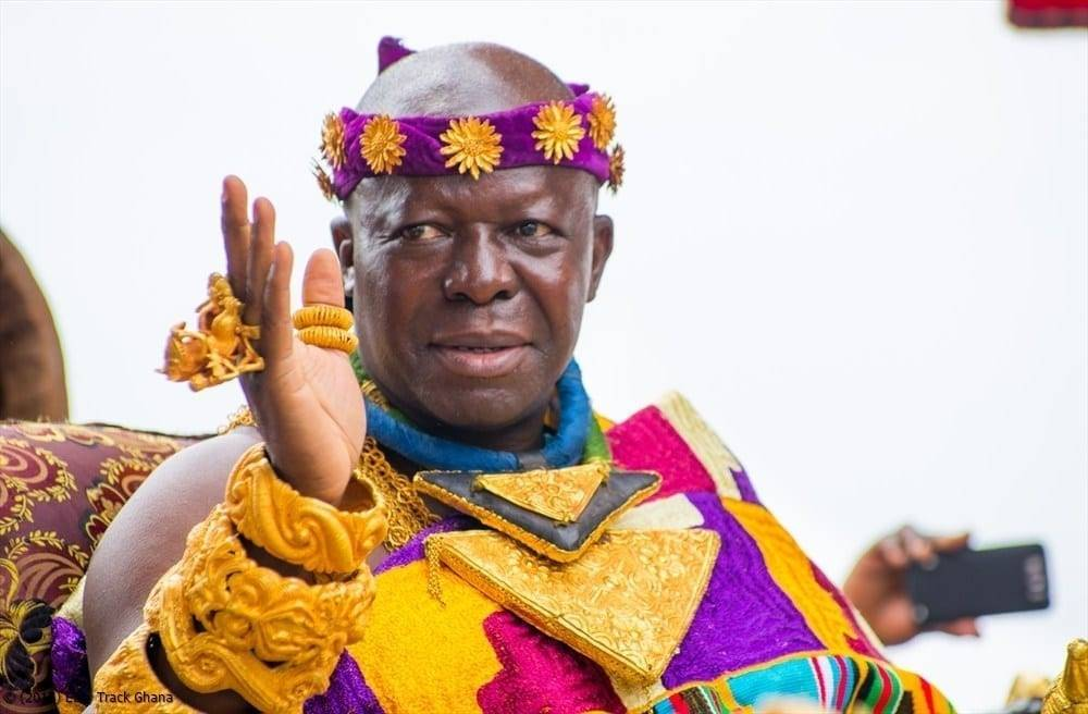 The Asantehene, Otumfuo Osei Tutu II
