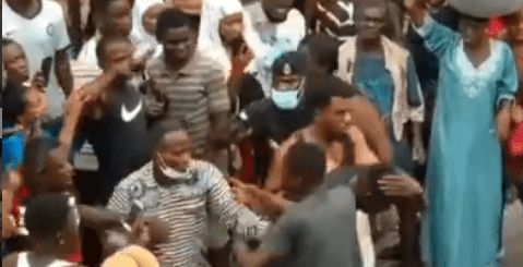 Two Pickpockets Nearly Lynched By Angry Mob
