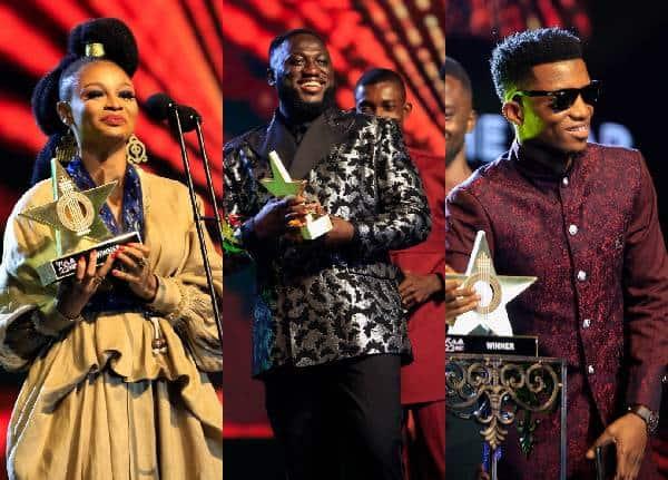 Abiana, MOG Music and Kofi Kinaata VGMA22