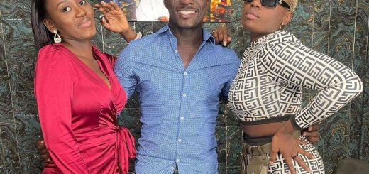 Former Yolo Actress Etty Bedi And Christabel Amoaning with Zionfelix