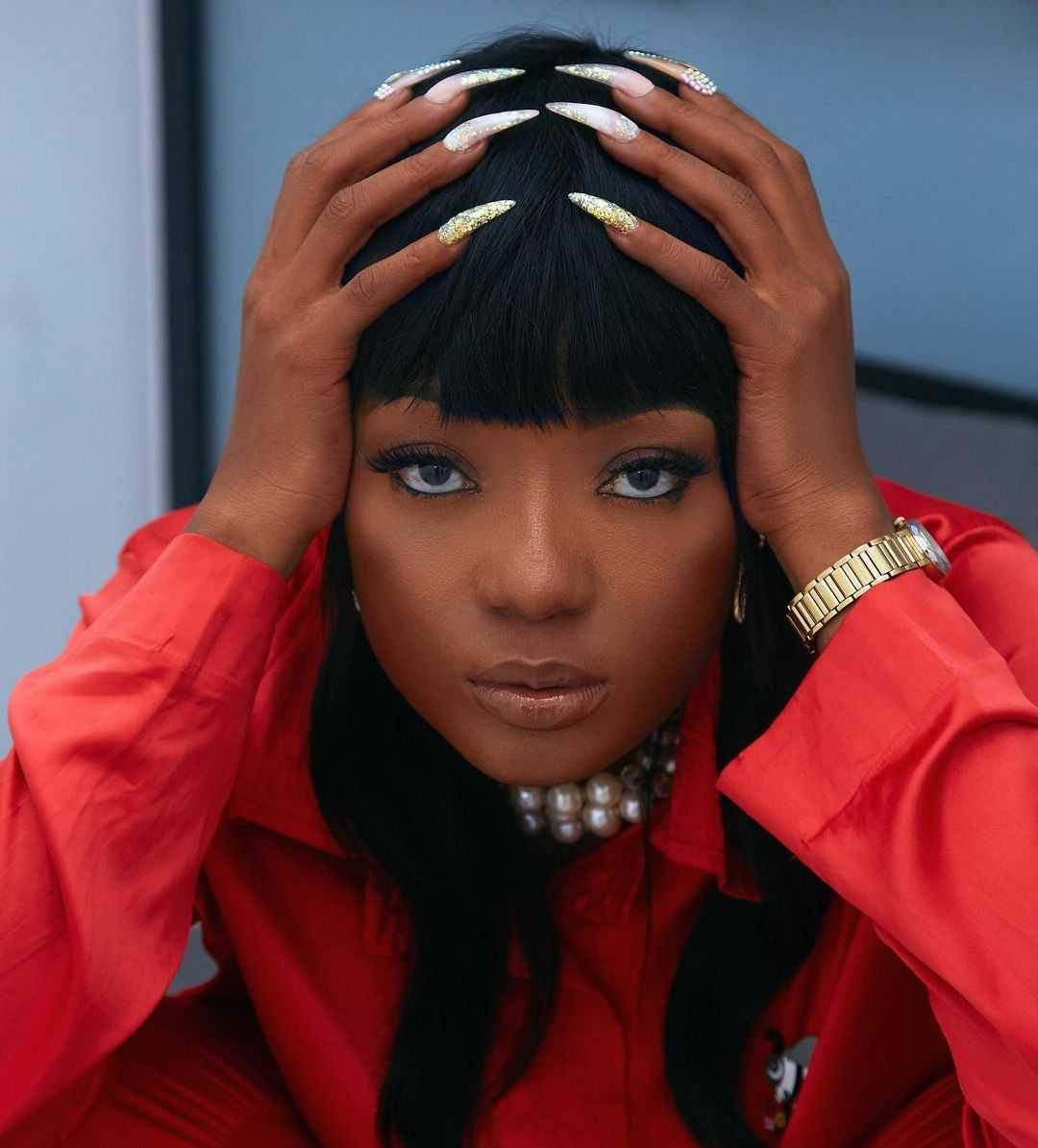 Efya has been subjected to attacks following accusations that she purchased Moesha's Range Rover
