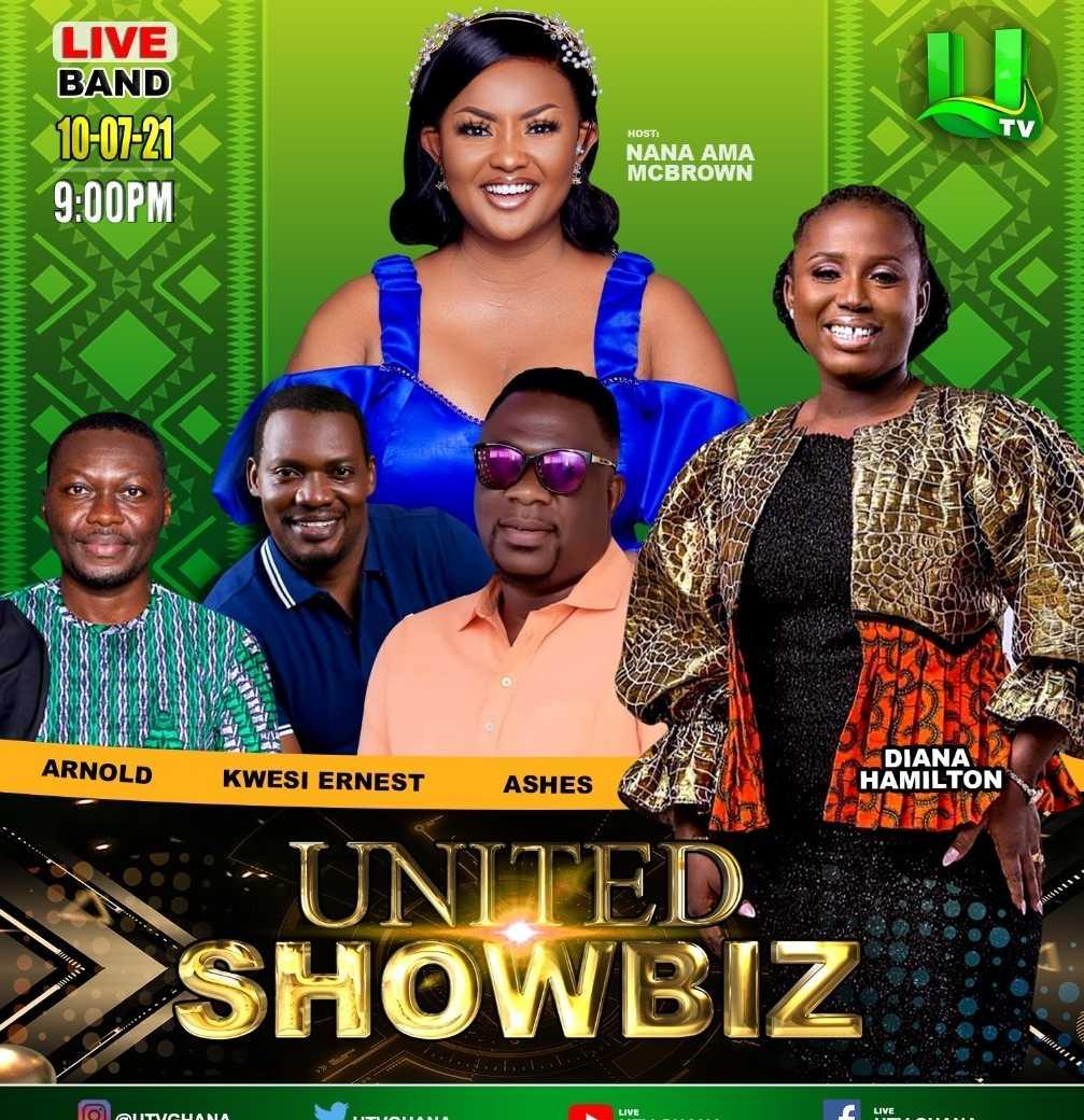 Nana Ama McBrown, with United Showbiz Guests